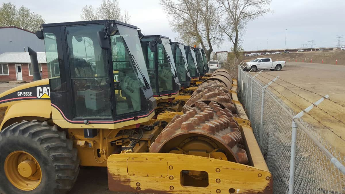 Briggs Equipment Ltd. - CAT Vibratory Packers