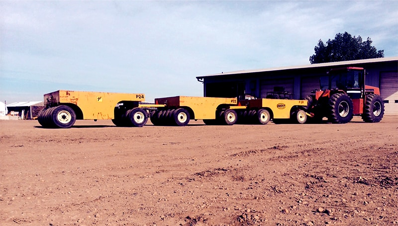 Briggs Equipment Ltd. - 13 Wheel Wobbly Packers